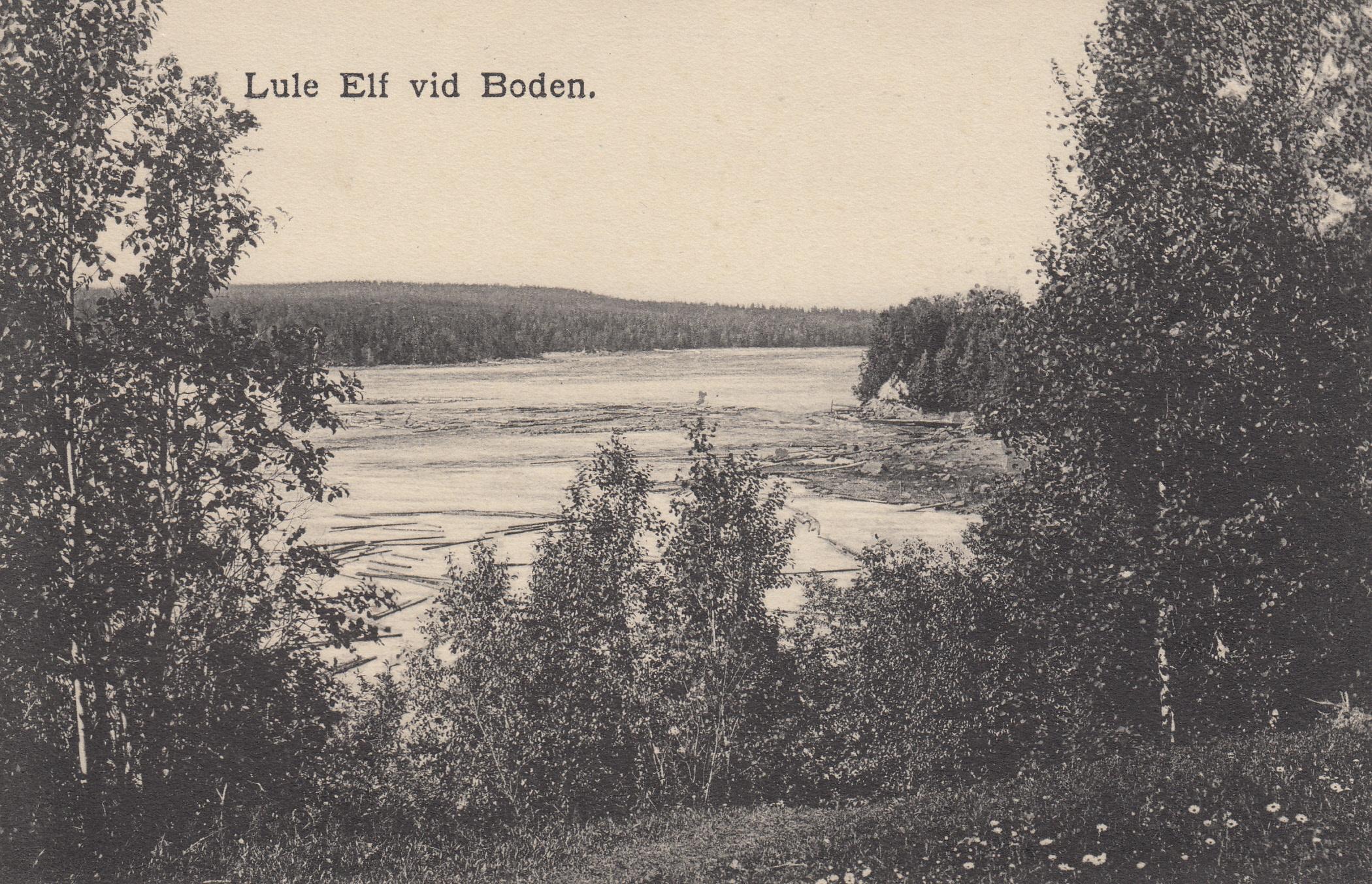 utsikt fran stentippen i Bodsvedjan